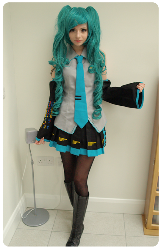 video cute teen dressed up for hot cosplay