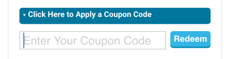 "-- Step 2 (image attached) - Enter your coupon code in the box, and tap the ""Redeem"" button.  ***Important note: the coupon code needs to be in all lowercase letters***"